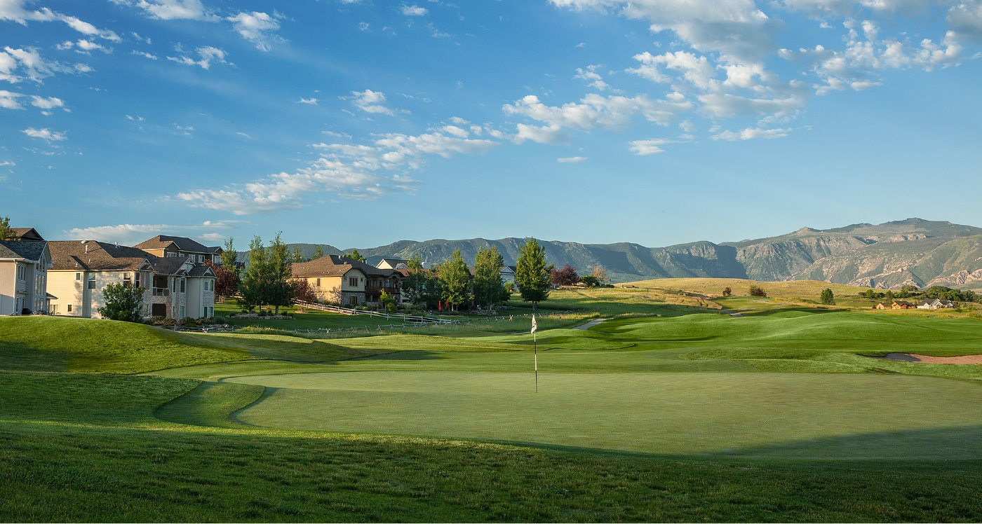 Powder Horn WY Golf Course Community