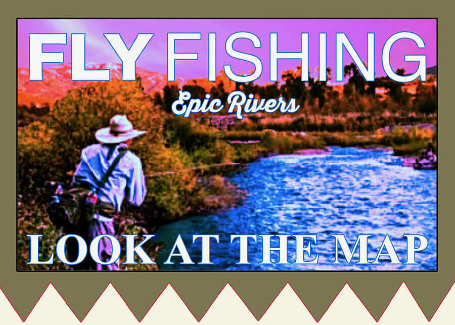Fly Fishing at Powder Horn, WY